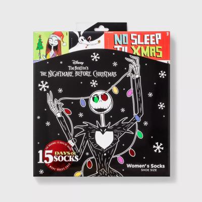 2021 Target Nightmare Before Christmas Women's Socks Advent Calendar: Jack Skellington Socks & More!