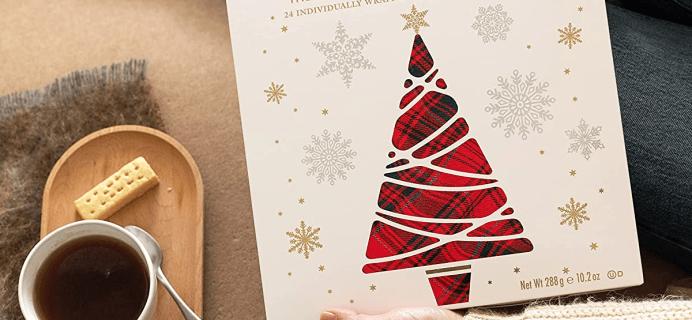 2021 Walkers Shortbread Advent Calendar Calendar: 24 Individually Wrapped Pure Butter Shortbread!