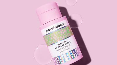Refreshments Launches Radiant Micellar Water: Your New Cleanser/Makeup Remover Essential!
