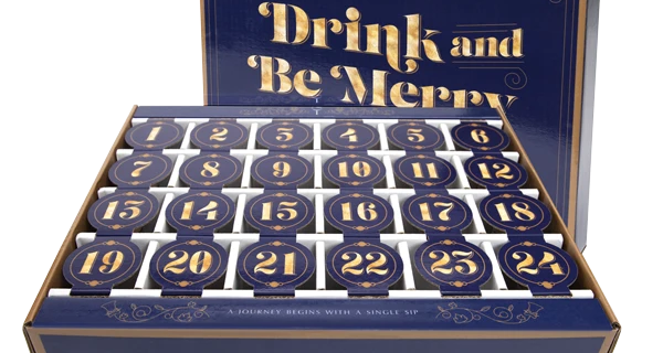 2021 In Good Taste Wine Advent Calendar: Drink & Be Merry with 24 Mini Bottles!