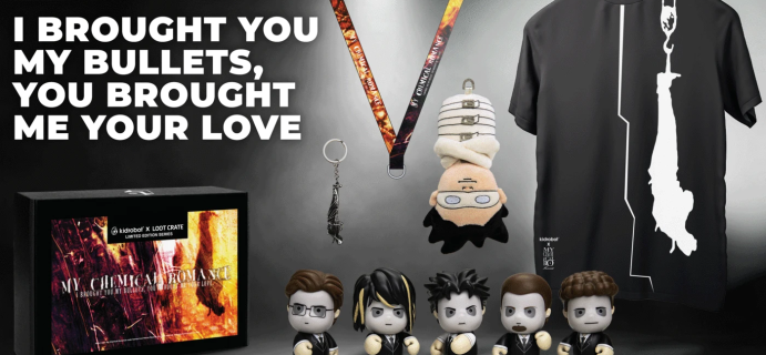 Loot Crate Limited Edition My Chemical Romance Crate Series!