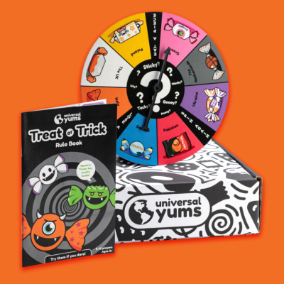 Universal Yums Halloween 2021: Treat or Trick Tasting Game Boxes!