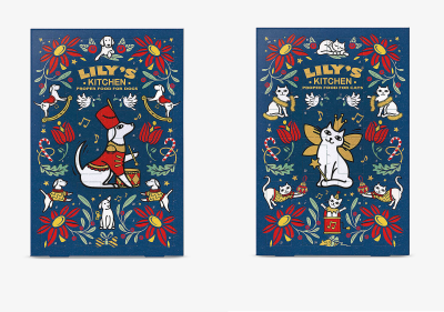 The Lily's Kitchen Advent Calendars: Treats For Your Dogs OR Cats!