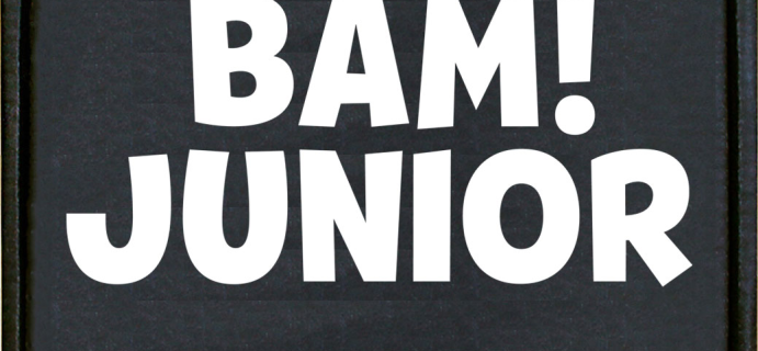 BAM! Launches The BAM! Junior Box: For Kids and Kids At Heart + November 2021 Spoilers!