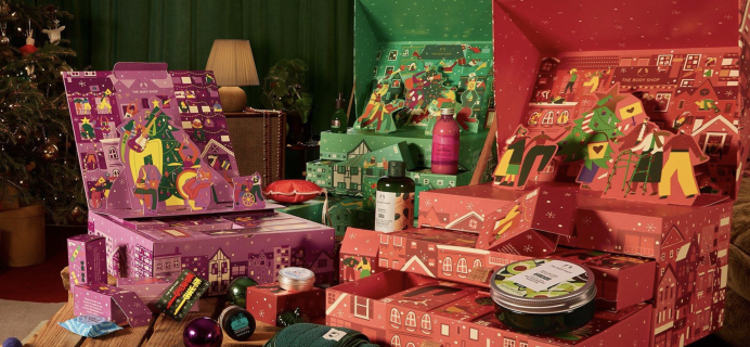 The 2021 Body Shop Beauty Advent Calendars: Count Down to Christmas Like Never Before!