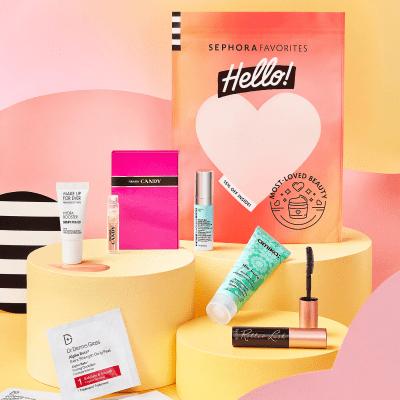 Sephora Favorites Hello! Most-Loved Beauty Set!