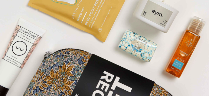 Liberty London Recharge, Reset Beauty Kit: Recharge, Reset, and Give Back!