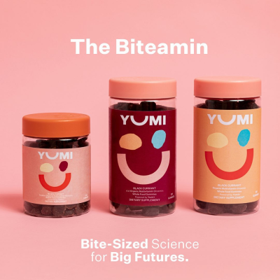 Yumi Multivitamins Are Here: Bite Sized Biteamin For Toddlers, Kids, And Adults!