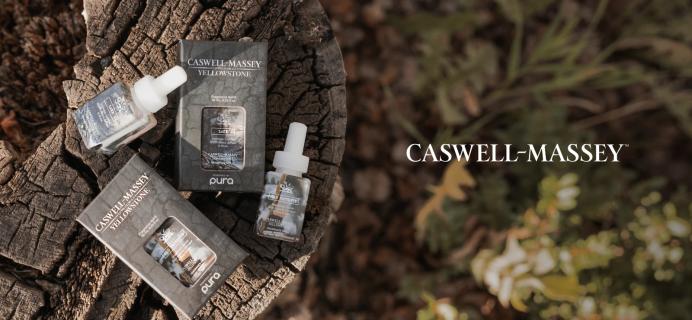 Pura Caswell-Massey x Yellowstone Scents: Old Faithful and Lake!