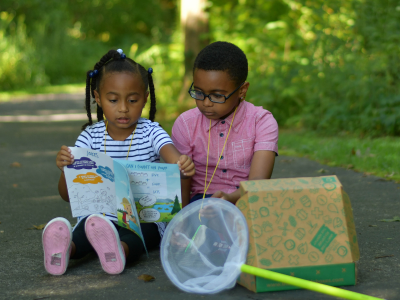 THiNK OUTSiDE Junior: Exploration Box for Kids Age 4-7!