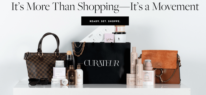 CURATEUR Launches Shoppe Membership: A New Way To Shop!