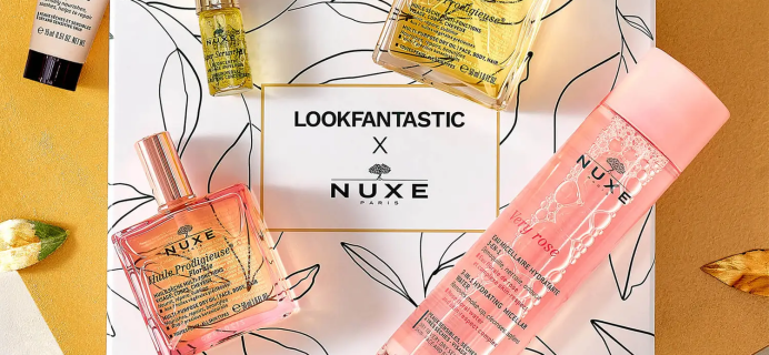 Look Fantastic x NUXE Limited Edition Beauty Box: 7 Products For Skincare Perfection + Full Spoilers!