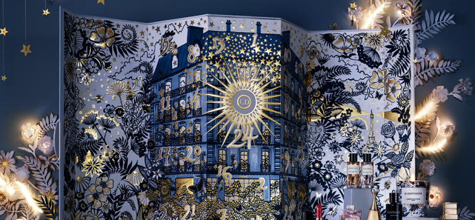 2021 Dior Advent Calendar: Countdown a Luxurious Garden of Blooms!