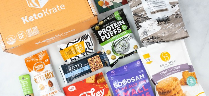 KetoKrate September 2021 Subscription Box Review + Coupon