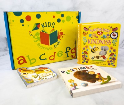 Kids BookCase Club August 2021 Subscription Box Review + 50% Off Coupon! GIRLS 2-4 YEARS OLD
