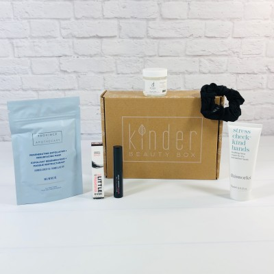 Kinder Beauty Box September 2021 Review + Coupon – EARLY BIRD BOX