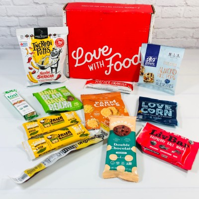 Love With Food September 2021 Gluten-Friendly Box Review + Coupon