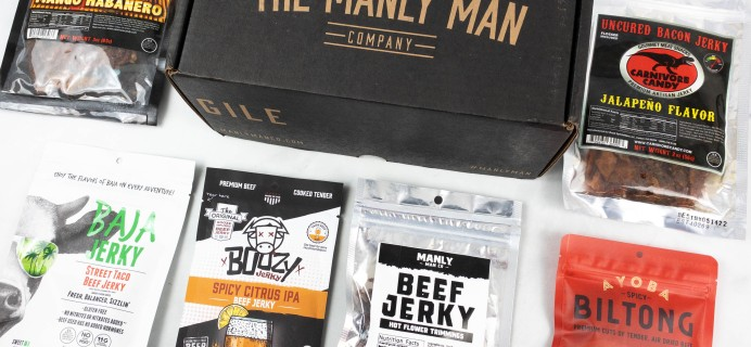 The RESUPPLY Manly Man Co. September 2021 Subscription Box Review