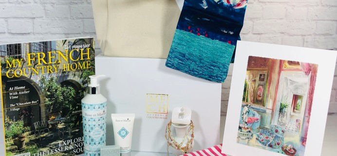 My French Country Home Box Review – August 2021 Un Weekend A Saint-Tropez