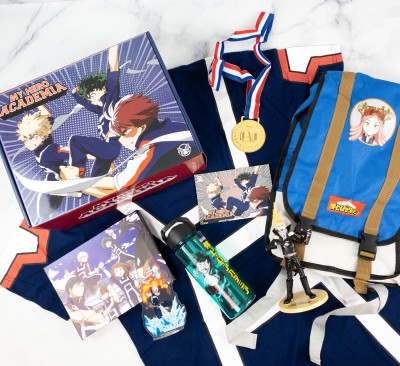 My Hero Academia Box Review: Summer 2021 SPORTS FESTIVAL!