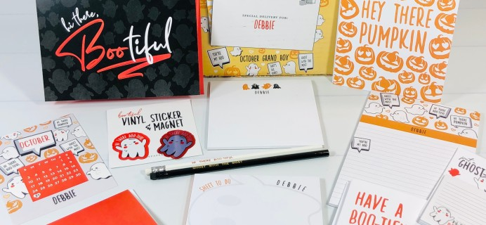 My Paper Box October 2021 Subscription Box Review + Coupon