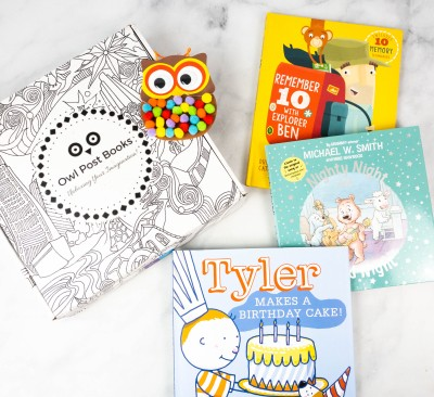 Owl Post Books Box Review + Coupon – September 2021