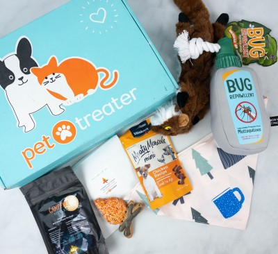 Pet Treater Deluxe Dog Pack Review + Coupon – September 2021
