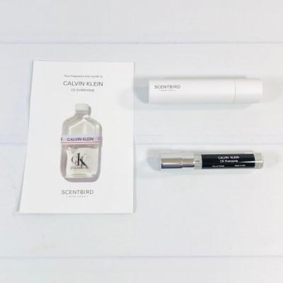 Scentbird Perfume Subscription Review & Coupon – Calvin Klein