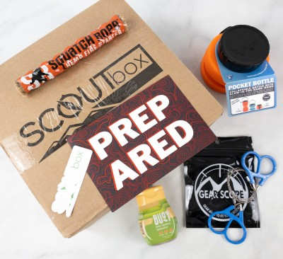 SCOUTbox Review + Coupon – September 2021