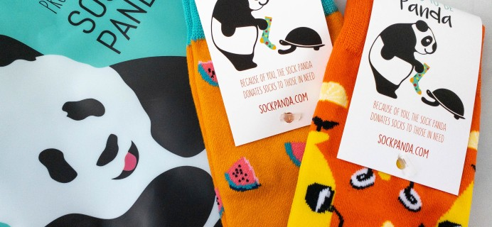 Sock Panda Tweens September 2021 Subscription Review + Coupon