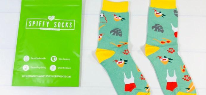 Spiffy Socks Review + Coupon – Women's Socks Subscription – August 2021