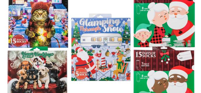 2021 Target Socks Advent Calendars: Holiday Cats & Dogs, Santa, Elves, & More!