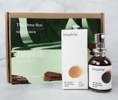 The Detox Box September 2021 Review: BIOPHILE