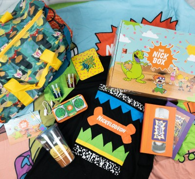 The Nick Box Summer 2021 Review: 20th Box Celebration!