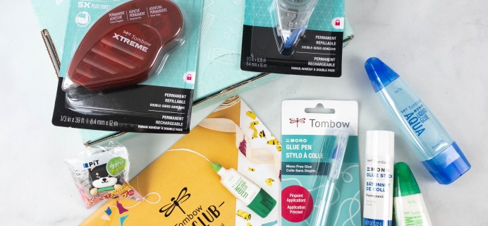 Tombow VIP Club Box Review – Fall 2021