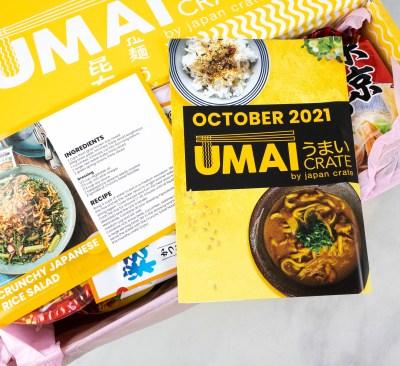 Umai Crate October 2021 Full Spoilers + Coupon!