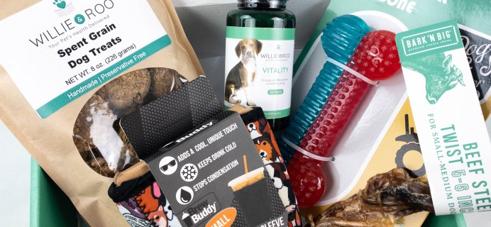 Willie & Roo Dog Subscription Box Review + Coupon – September 2021