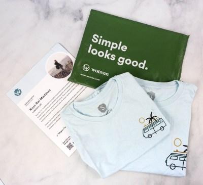 Wohven T-Shirt Subscription Review & Coupon – August 2021