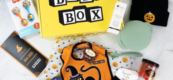 123 Baby Box October 2021 Subscription Box Review + Coupon!