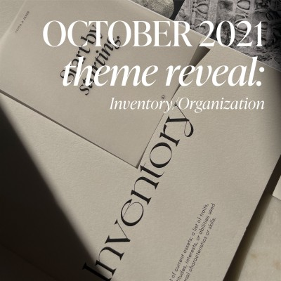 CLOTH & PAPER Planning + Stationery Box October 2021 Spoiler #2!