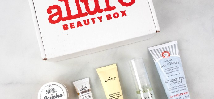 Allure Beauty Box October 2021 Review & Coupon