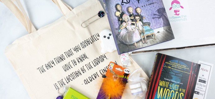 beTWEEN the Bookends October 2021 Subscription Box Review