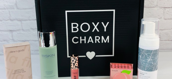 BOXYCHARM Premium October 2021 Review + Coupon