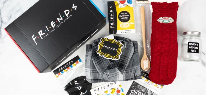 FRIENDS Subscription Box Fall 2021 Review