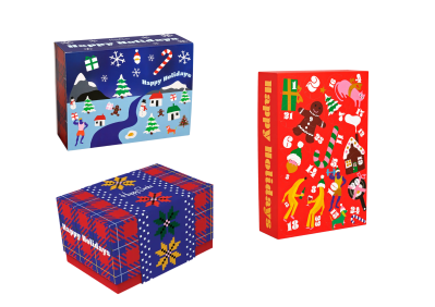 2021 Happy Socks Advent Calendars: 12 Days, 24 Days or Make Your Own!