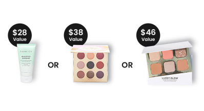 BOXYCHARM Coupon: FREE Cleanser OR Palette + $10 PopUp Credit with October 2021 Box!