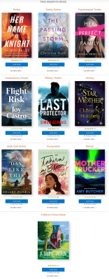 Amazon First ReadsOctober 2021 Selections: 1 Book FREE for Amazon Prime Members