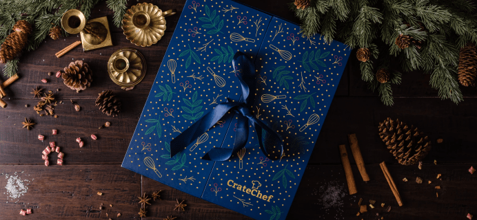 2021 CrateChef Advent Calendar: 24 Gourmet Surprises!