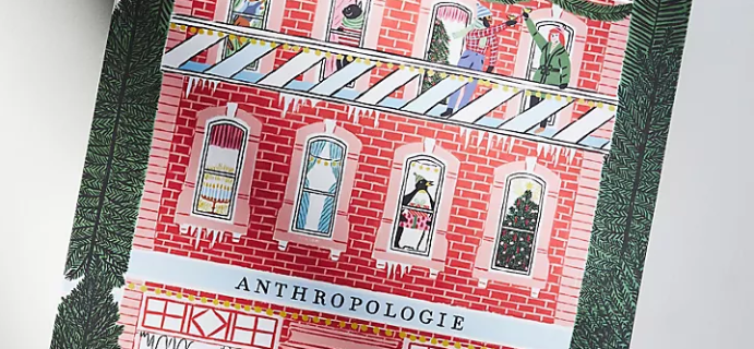 2021 Anthropologie George & Viv Beauty Advent Calendar: 24 Premium Samples From Well Loved Brands + Spoilers!