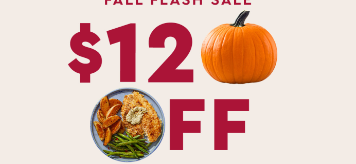Blue Apron Fall Flash Sale: Save Up to $120!